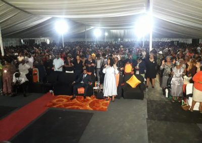 Anointing service at Durban (2)